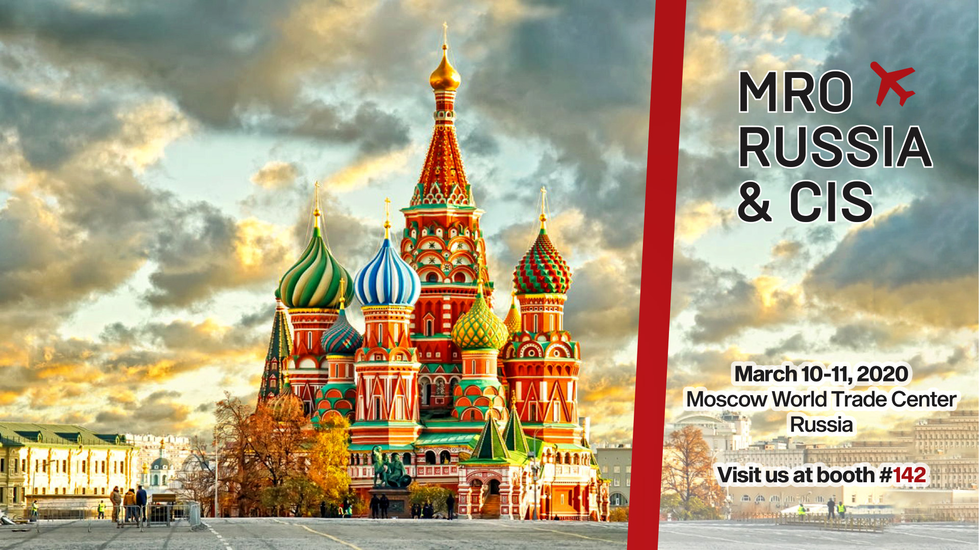 "<h2>Visit us at <span style=""color: rgb(196, 22, 28);""><strong>MRO Russia &amp; CIS 2020</strong></span><strong>&nbsp;</strong>in Moscow</h2>"
