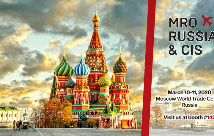 Visit us at MRO Russia & CIS 2020in Moscow