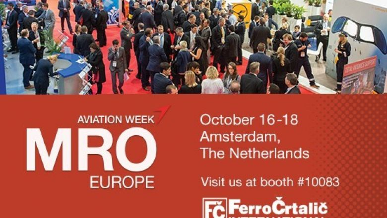 <h2><strong>MRO EUROPE 2018,</strong> <br>Amsterdam <br> </h2>