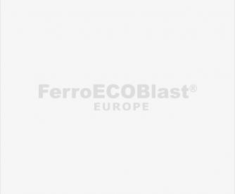 Robotized blasting chamber