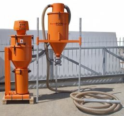 """<h1>Abrasive collecting and recycling center <span style=""""color: rgb(196, 22, 28);""""><strong>PNEUM-1</strong></span></h1>"""