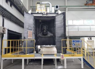 """<h1><span style=""""color: rgb(196, 22, 28);""""><strong>Robotic Dry Blasting</strong></span> machine</h1>"""