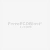 Inox sculpture shot blasting