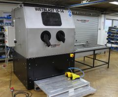 "<h1><span style=""color: rgb(196, 22, 28);""><strong>Manual Wet Blasting machine</strong></span> for fine surface finishing process</h1>