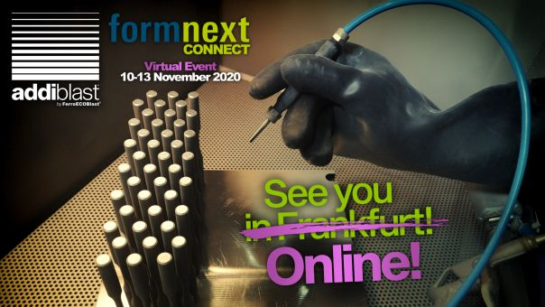 Meet us at Formnext Connect 2020in Frankfurt!
